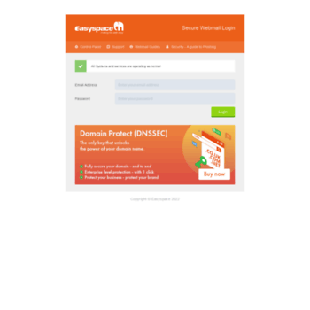 Mailcontrol.easyspace.com thumbnail