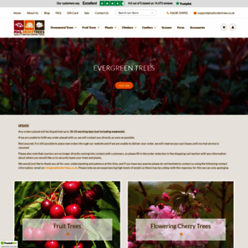 Mailordertrees Co Uk At Wi Buy Trees Fruit Trees Shrubs And