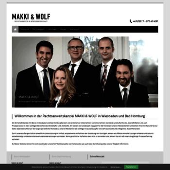 Makki-wolf.de thumbnail
