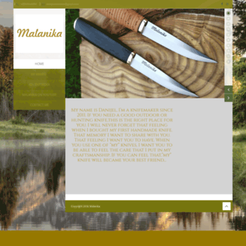 malanika com at WI  Custom made knives and tools