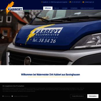 Malermeister-kabbert.de thumbnail