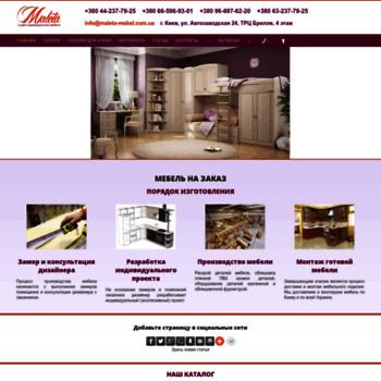 Maleta-mebel.com.ua thumbnail