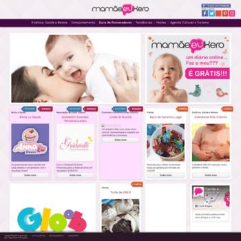 Mamaeeukero.com.br thumbnail