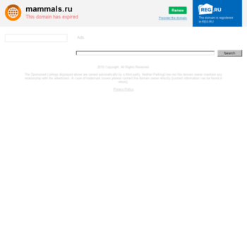 Mammals.ru thumbnail