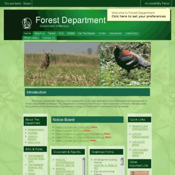 Manipurforest.gov.in thumbnail