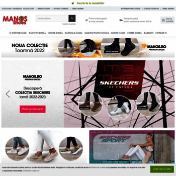 cea mai recentă pantofi ieftin online de vânzare manos.ro at WI. Manos Shoes - Incaltaminte premium