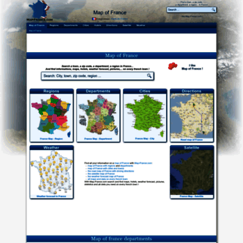 Map Of France Departments.Map France Com At Wi Map Of France Departments Regions Cities