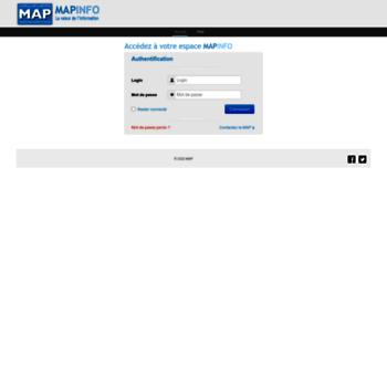 Mapinfo.ma thumbnail
