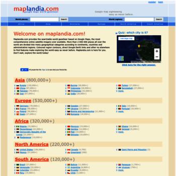 Maplandia.com thumbnail