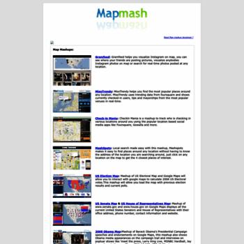 Mapmash.in thumbnail