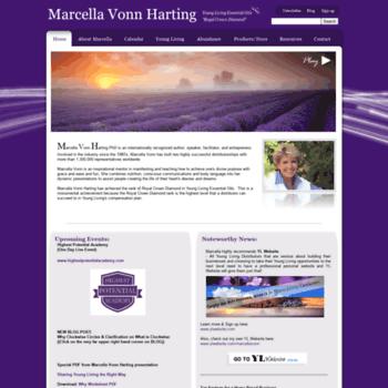 Marcellavonnharting.com thumbnail