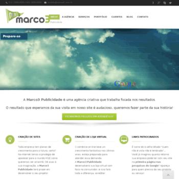 Marco3.com.br thumbnail