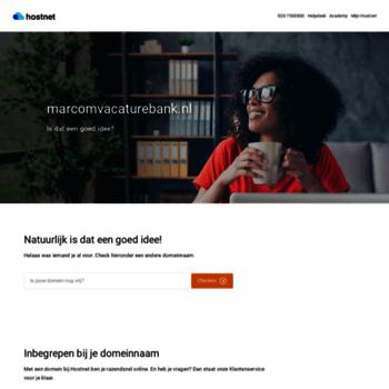 Marcomvacaturebank.nl thumbnail