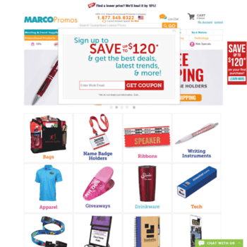 marcopromotionalproducts com at WI  Promotional Products by