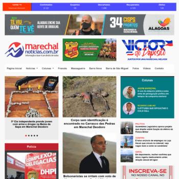 Marechalnoticias.com.br thumbnail