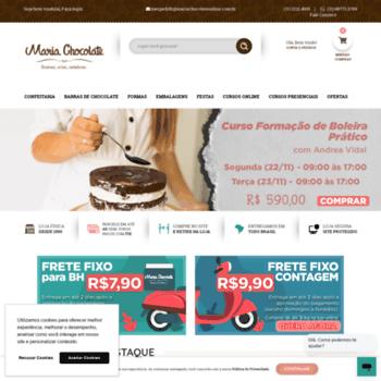 Mariachocolate.com.br thumbnail