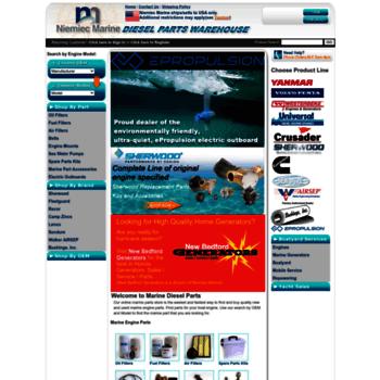 marinedieselparts com at WI  Marine Engine Parts