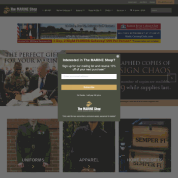 Marineshop.net thumbnail