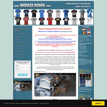 675d48aa87 markasruhak.com at WI. Márkás ruha Outlet stock nagykereskedés