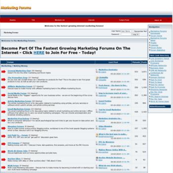 Marketingforums.net thumbnail