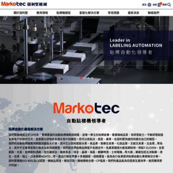 Markotech.com.tw thumbnail