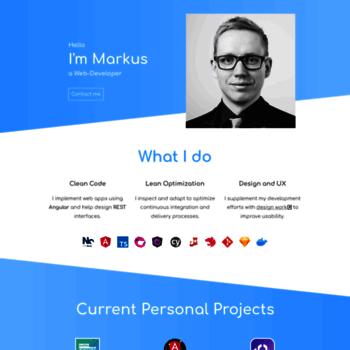markus-falk com at WI  Markus Falk - I knoWz web