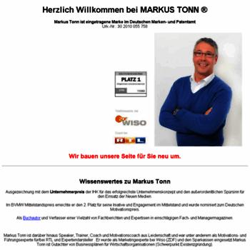 Markus-tonn.de thumbnail