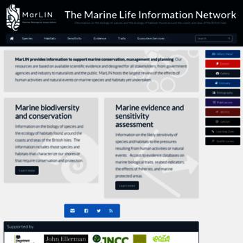 Marlin.ac.uk thumbnail