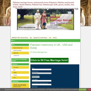 marriagebureau doomby com at WI  a pakistani matrimonials