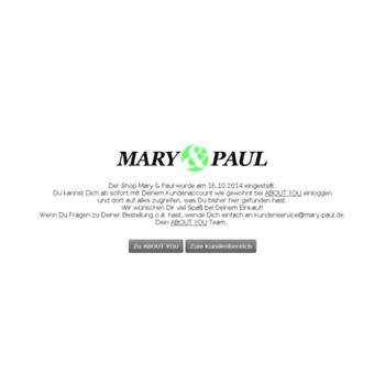 Maryandpaul.de thumbnail