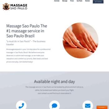 Massagesaopaulo.com thumbnail