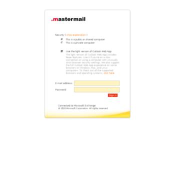 Mastermail.ru thumbnail