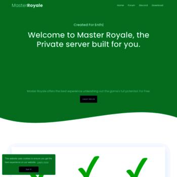 Masterroyale.net thumbnail