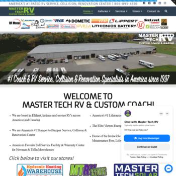 Mastertechrv.com thumbnail