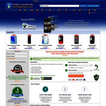 masterunlockcode com at WI  Unlock Cell Phone - Unlock iPhone IMEI