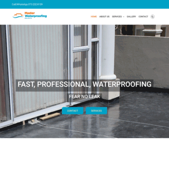Masterwaterproofing.co.za thumbnail