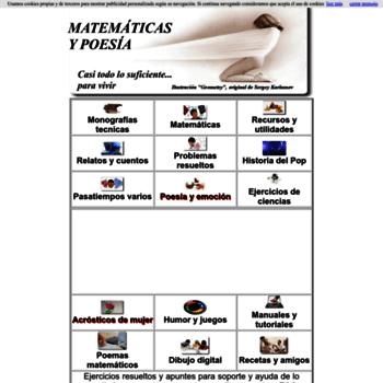 Matematicasypoesia.com.es thumbnail