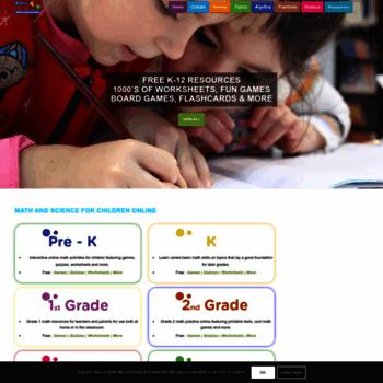 Math4childrenplus.com thumbnail