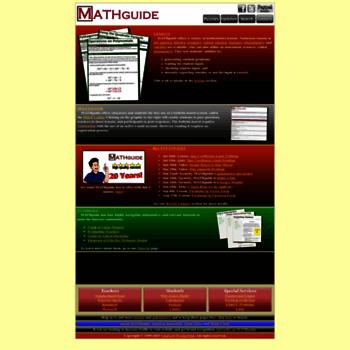 Mathguide.com thumbnail