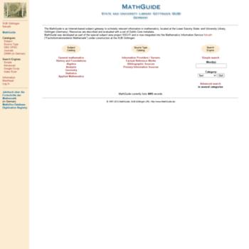 Mathguide.de thumbnail