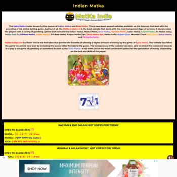 Matka-indian.net thumbnail
