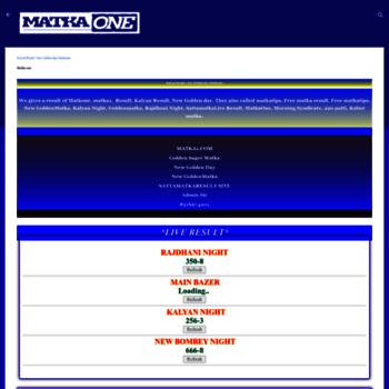 Matka1.com thumbnail
