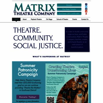 Matrixtheatre.org thumbnail