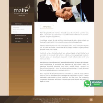 Matteadv.com.br thumbnail
