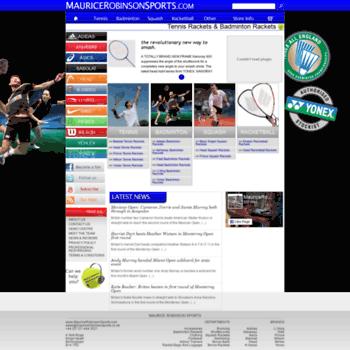 Mauricerobinsonsports.com thumbnail