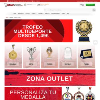 Maxitrofeocom At Wi Medallas Trofeos Y Copas Maxitrofeo