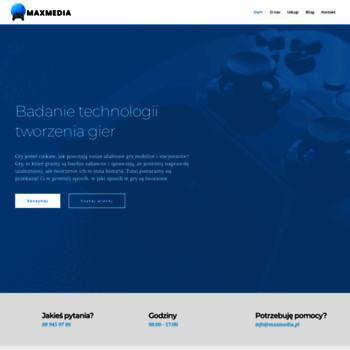Maxmedia.pl thumbnail