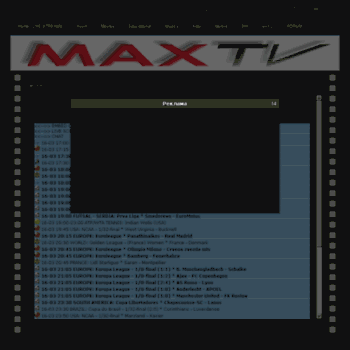 maxtv ml at WI  MaxTV - Home page