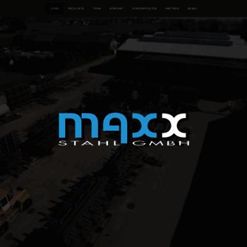 Maxxstahl.at thumbnail