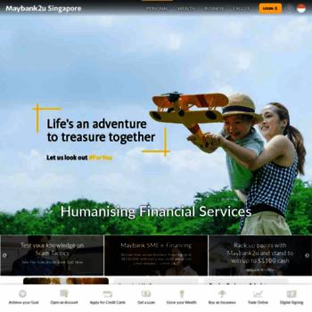 Maybank2u.com.sg thumbnail
